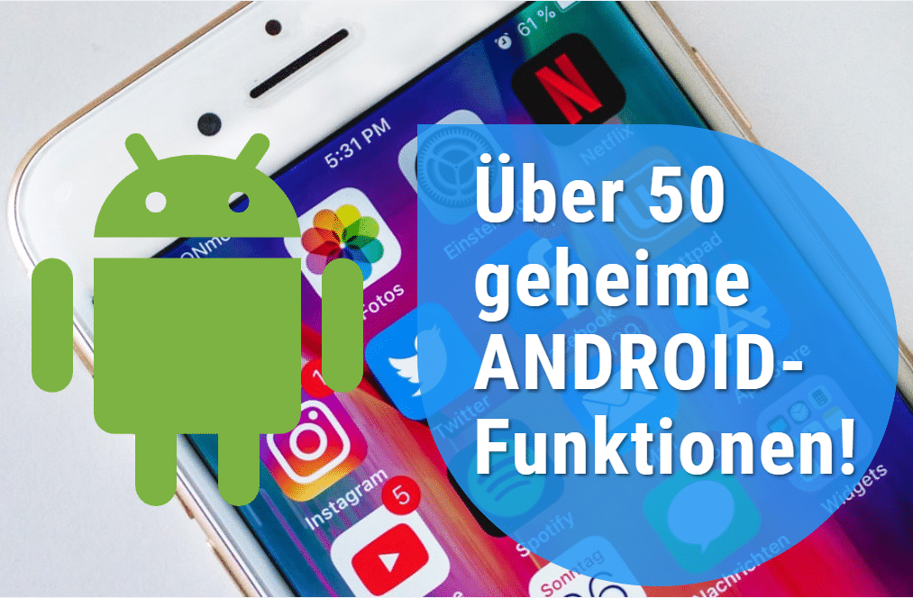 Geheime Android Funktionen